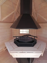 Viking-Extra Small Straight Wall BBQ Hut Pic 2