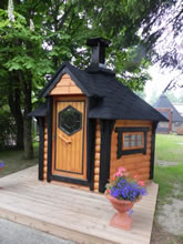 Viking-Extra Small Straight Wall BBQ Hut Pic 6