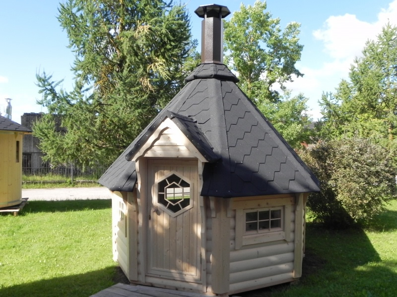 Small Straight Wall Bbq Hut By Forest Log Cabins