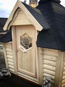 Viking-SPECIAL PRICE Medium Sloping Wall BBQ Hut Pic 3
