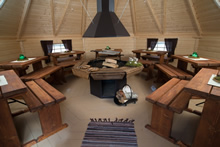 Viking-XXL Straight Wall BBQ Hut Pic 3