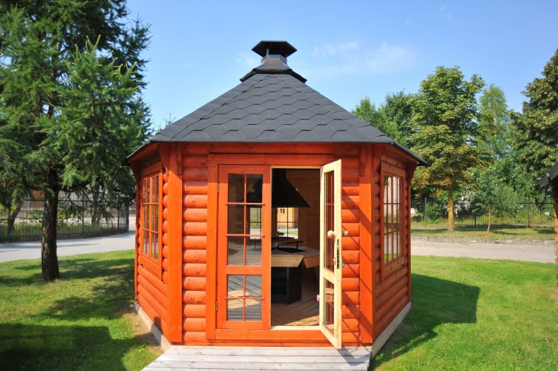 FPL6140 - Medium Pavillion BBQ Hut