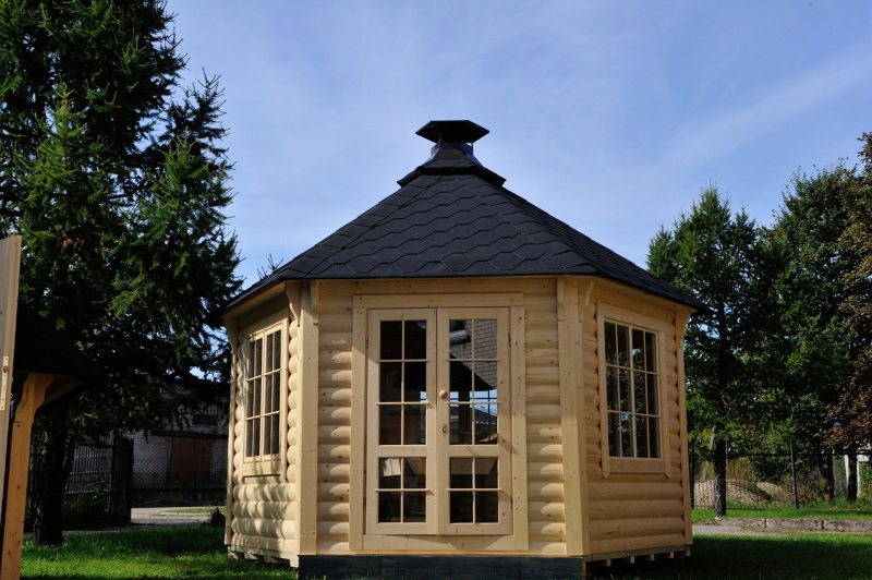 FPL6145 - Large Pavillion BBQ Hut