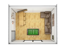 Viking-Insulated Man Cave Cube 3x4 Pic 2