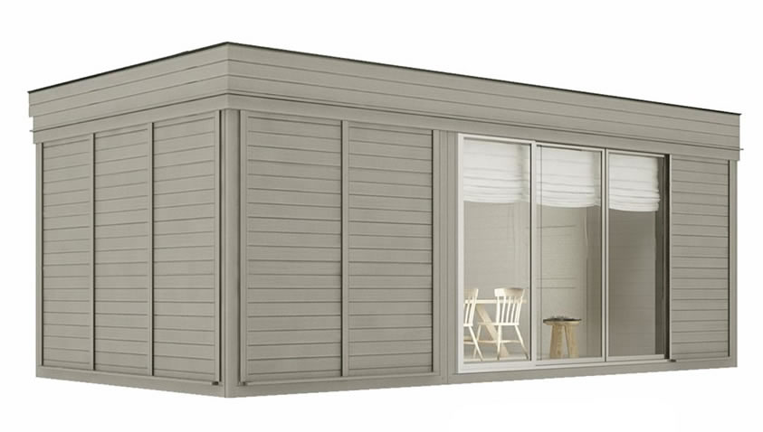 FPL6280 - Sauna Cube 3x6 with lounge room