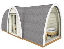 Viking-Side entry Camping Pod Pic 9