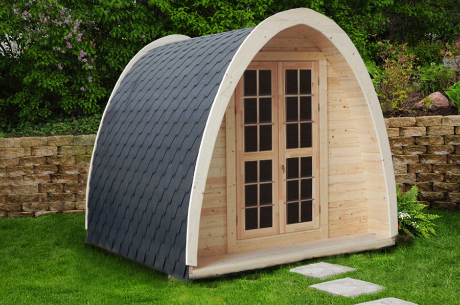 FPL6620 - Thermo Wood Arch Camping Pods