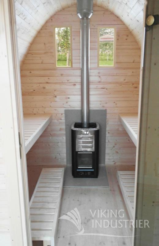 Medium Sauna Pod By Forest Log Cabins