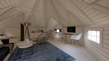Viking-XL Camping Hut with 2 extensions Pic 3