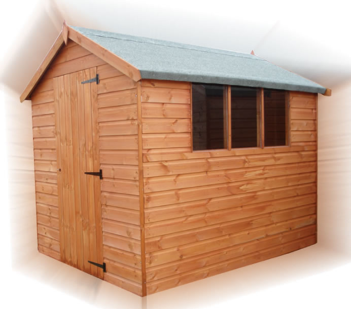 FPL8001 - Standard Apex Shed