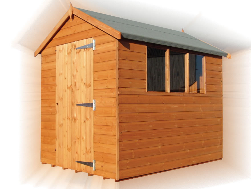 Bentley Supreme Apex Shed By Forest Log Cabins And