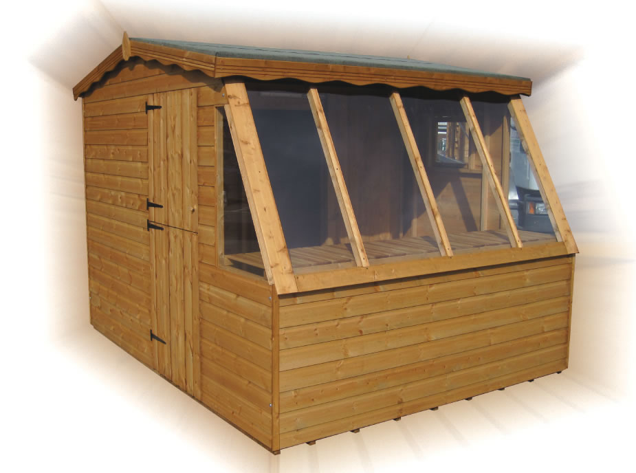 FPL8011 - Combi Potting Shed