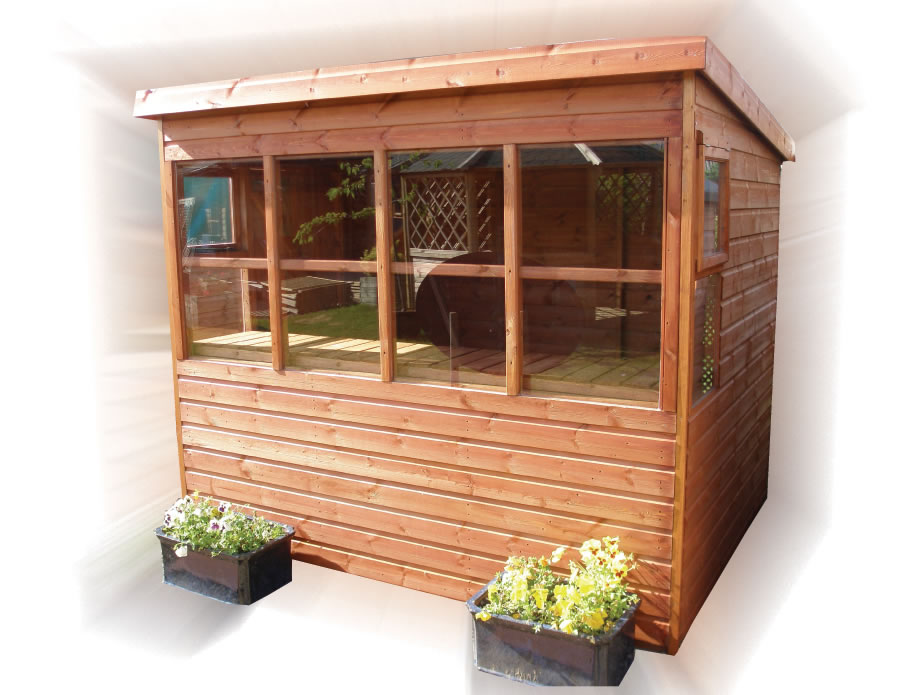 FPL8012 - Sunflower Potting Shed