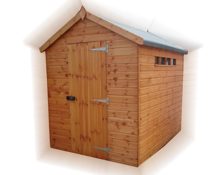 Security-Apex-Shed by Forest Products and TGB