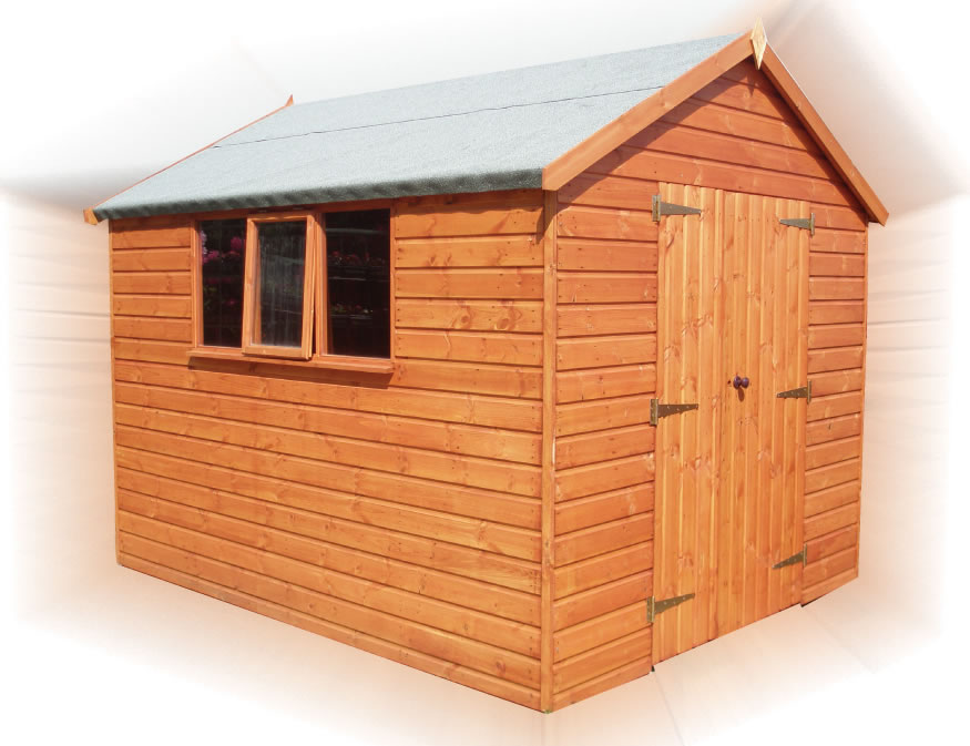 FPL8015 - Heavy Duty Apex or Pent Shed