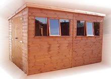 TGB-Heavy Duty Apex or Pent Shed Pic 2