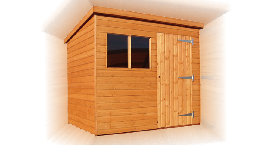 FPL8028 - Bentley Supreme Pent Shed