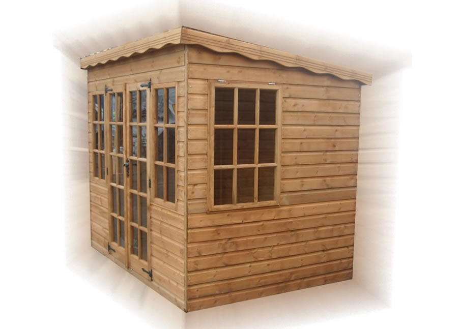 FPL8056 - Pent Summerhouse