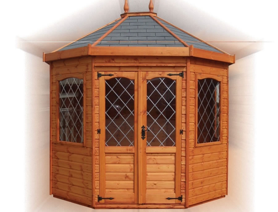 FPL8066 - Stretched Octagonal Summerhouse