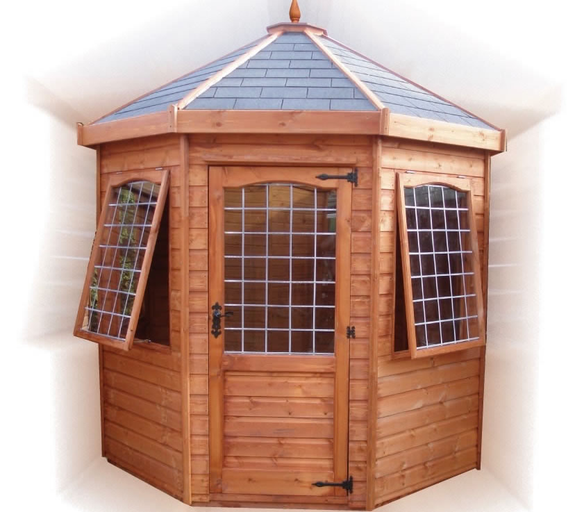 FPL8074 - Octagonal Summerhouse