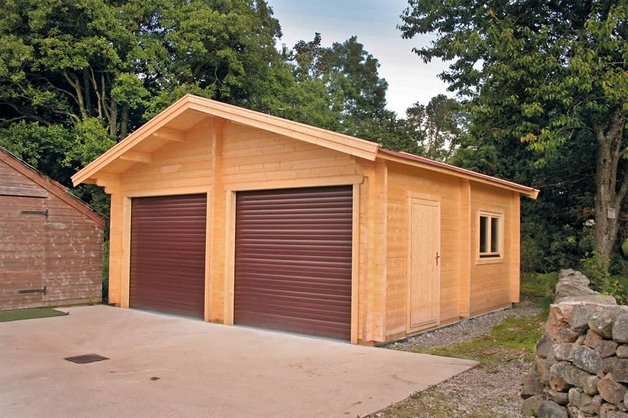Garage Premium 600x600 By Forest Log Cabins