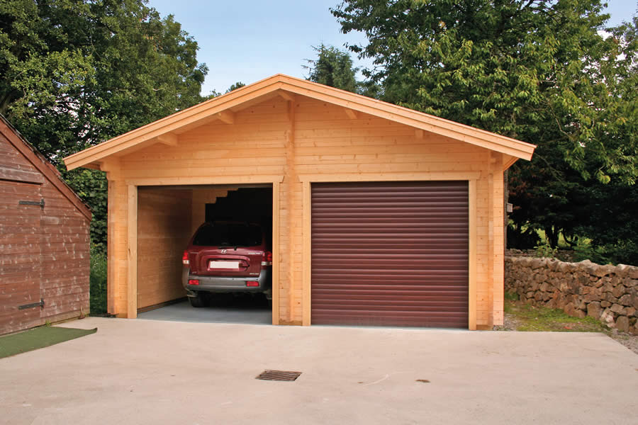 Garage Premium 600x600 By Forest Log Cabins And Summerhouses