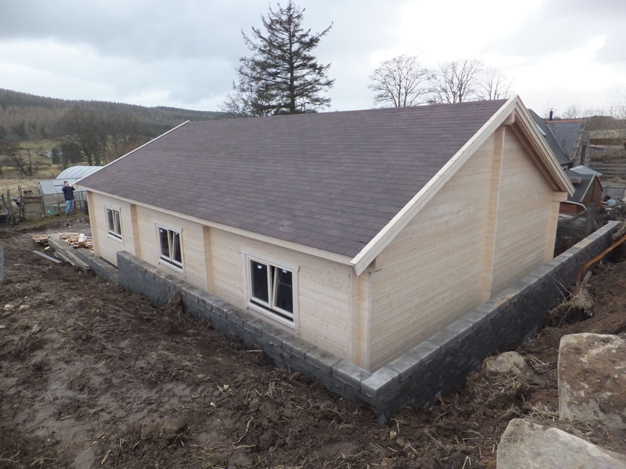 4 car garage 800x1200 by forest log cabins for 4 car garage prices