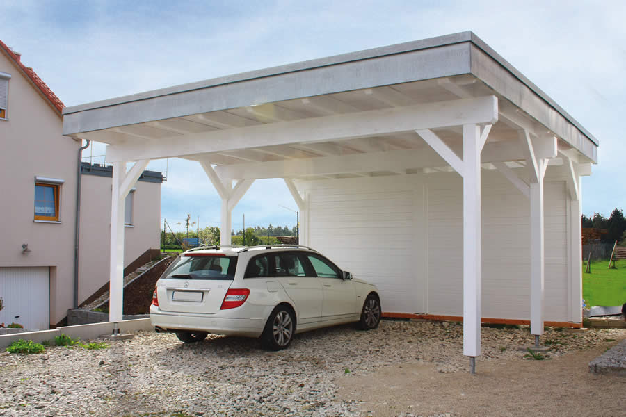 FPL9237 - Carport Cicero 5750F with extension