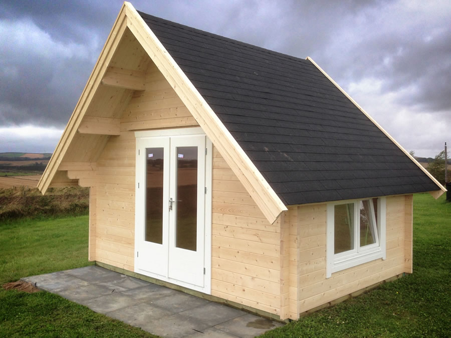 FPL9416 - A Style Log Cabin 400x300
