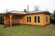 Bertsch Holzbau-Blankenese Cabin 400x800 with ext Pic 1