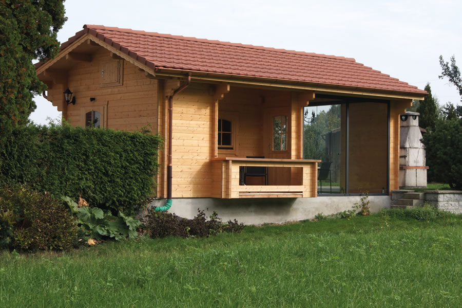 FPL9505 - Lausanne Cabin 390x394 with porch