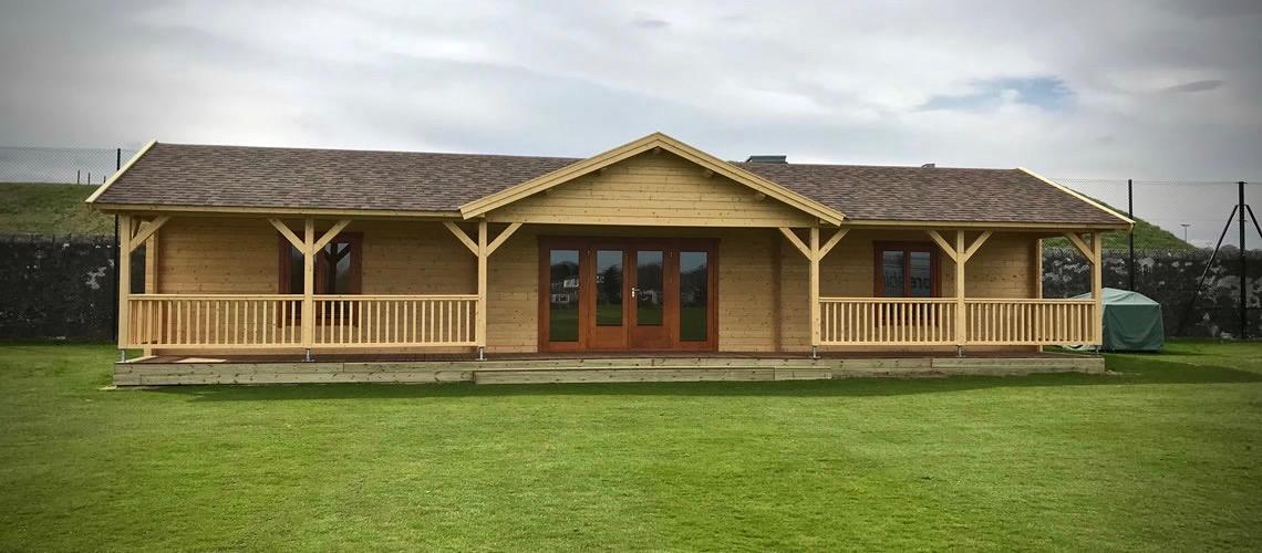 Log Cabins in Scotland, Summerhouses, Wooden Garages, BBQ